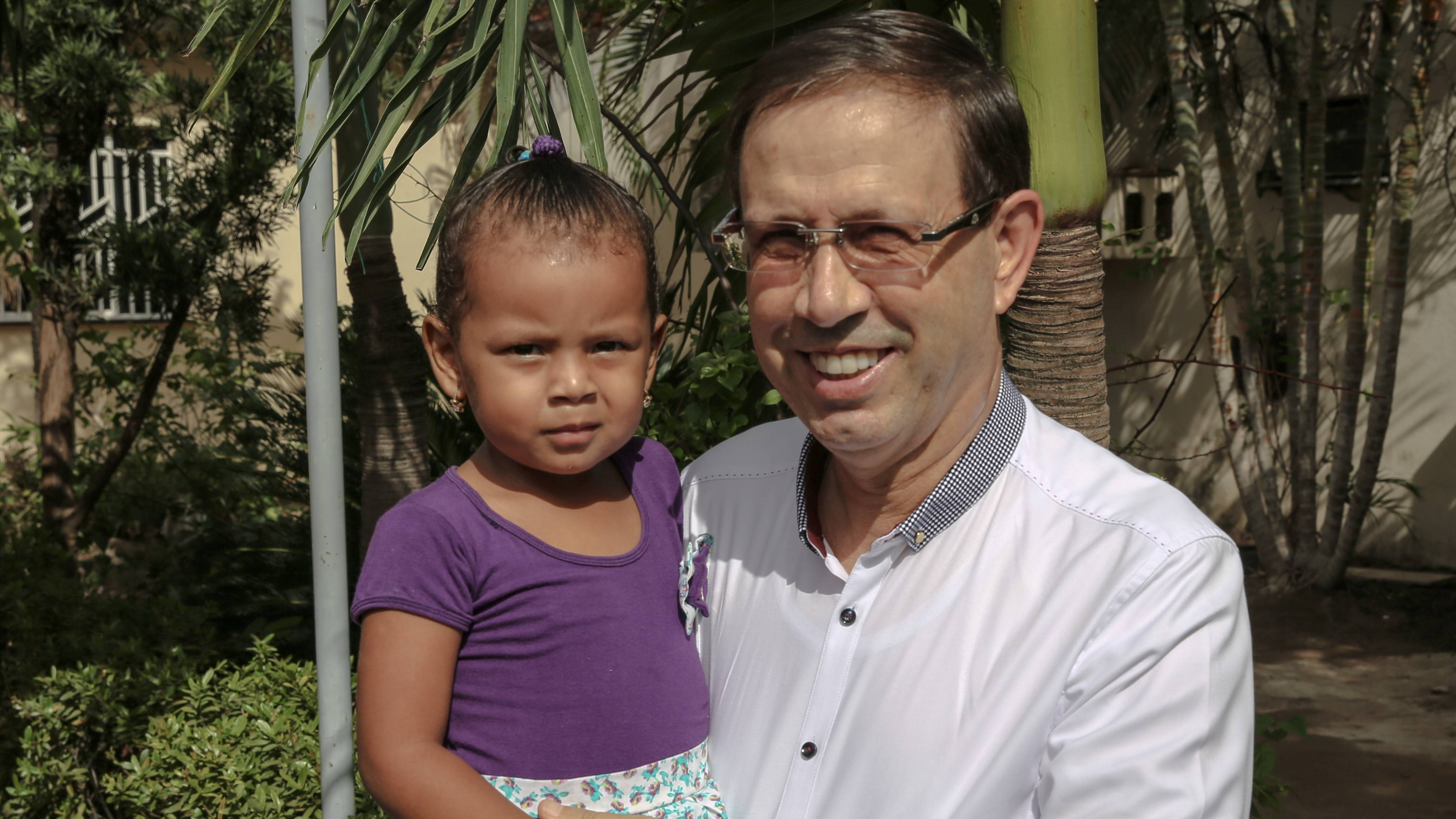 Empresário mora atualmente em Rondônia, onde participa de projeto de acolhimento de imigrantes venezuelanos.