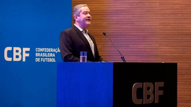 O presidente da CBF, Rogério Caboclo.