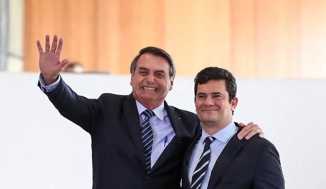 Moro afirmou que presidente Jair Bolsonaro não cometeu obstrução de Justiça