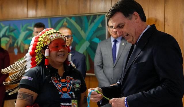Jair Bolsonaro falou em não demarcar mais terras indígenas