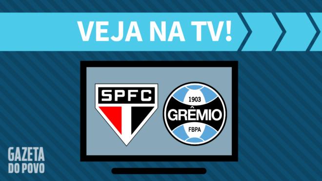 São Paulo x Grêmio: veja na TV