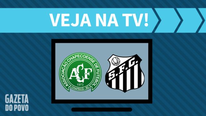 Chapecoense x Santos: veja na TV