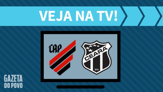 Athletico x Ceará: veja na TV