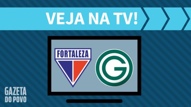Fortaleza x Goiás: veja na TV