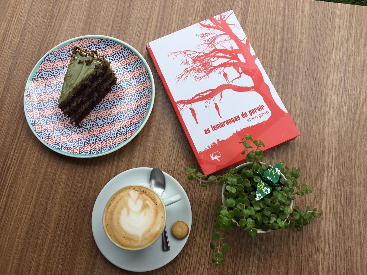 Café e leitura: novo cardápio Arte & Letra. Foto: divulgação.