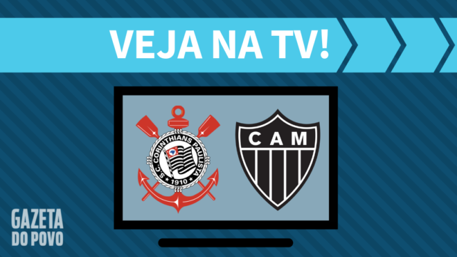 Corinthians x Atlético-MG: veja na TV