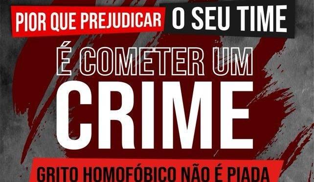Athletico se une aos outros clubes da Série A em campanha contra à homofobia nos estádios
