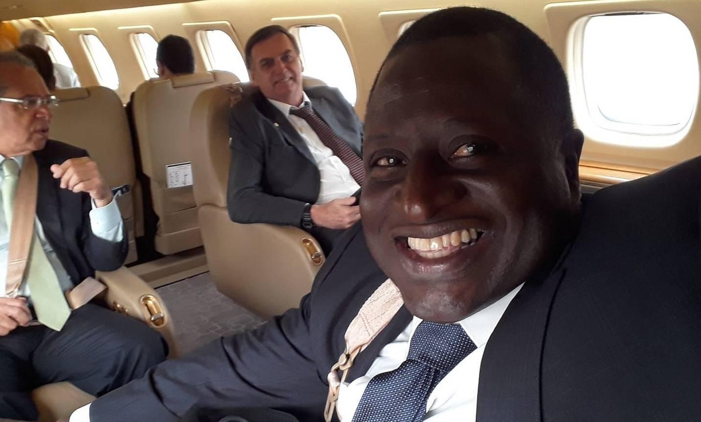 Hélio Negão aparece com frequência ao lado do presidente Jair Bolsonaro.