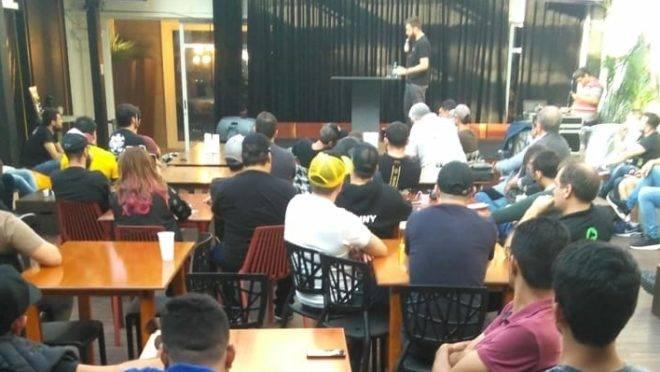 Procura foi grande pelas palestras. Foto: Robson Martins/Gazeta do Povo
