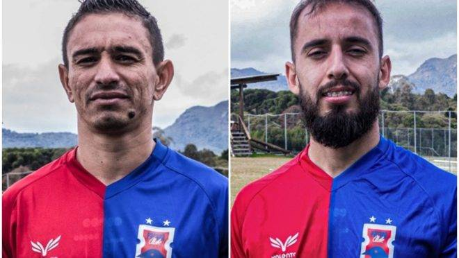 Pimentinha e Vitinho. Imagens: Divulgação/Paraná Clube