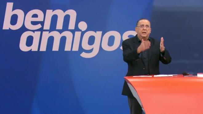 """Galvão Bueno desabafa sobre vídeo que viralizou: """"Recebi até ameaça de morte"""""""