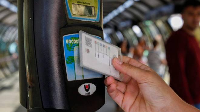 Cartão-transporte de Curitiba