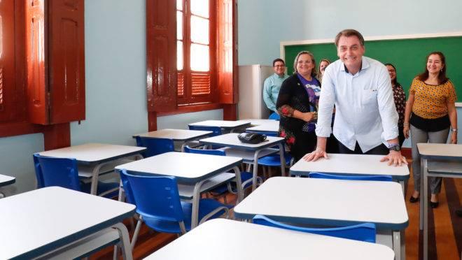 Ideologia de gênero nas escolas: Jair Bolsonaro