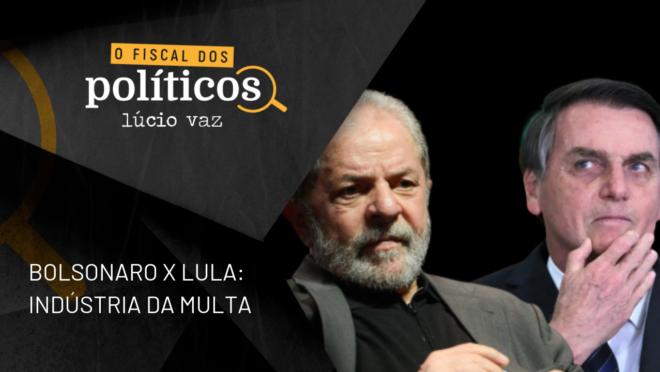 Fiscal dos políticos: indústria da multa e uma triste comparação para o governo Bolsonaro