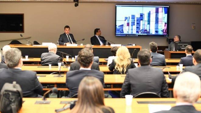 Audiência pública da Comissão de Finanças e Tributação da Câmara dos Deputados.