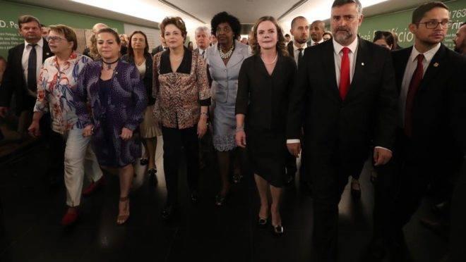Retorno de Dilma ao Congresso ocorre pela primeira vez em três anos
