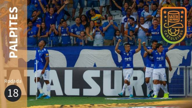 Palpites da 18ª rodada do Brasileirão 2019.