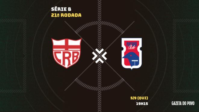 CRB x Paraná Clube: tudo sobre o jogo!