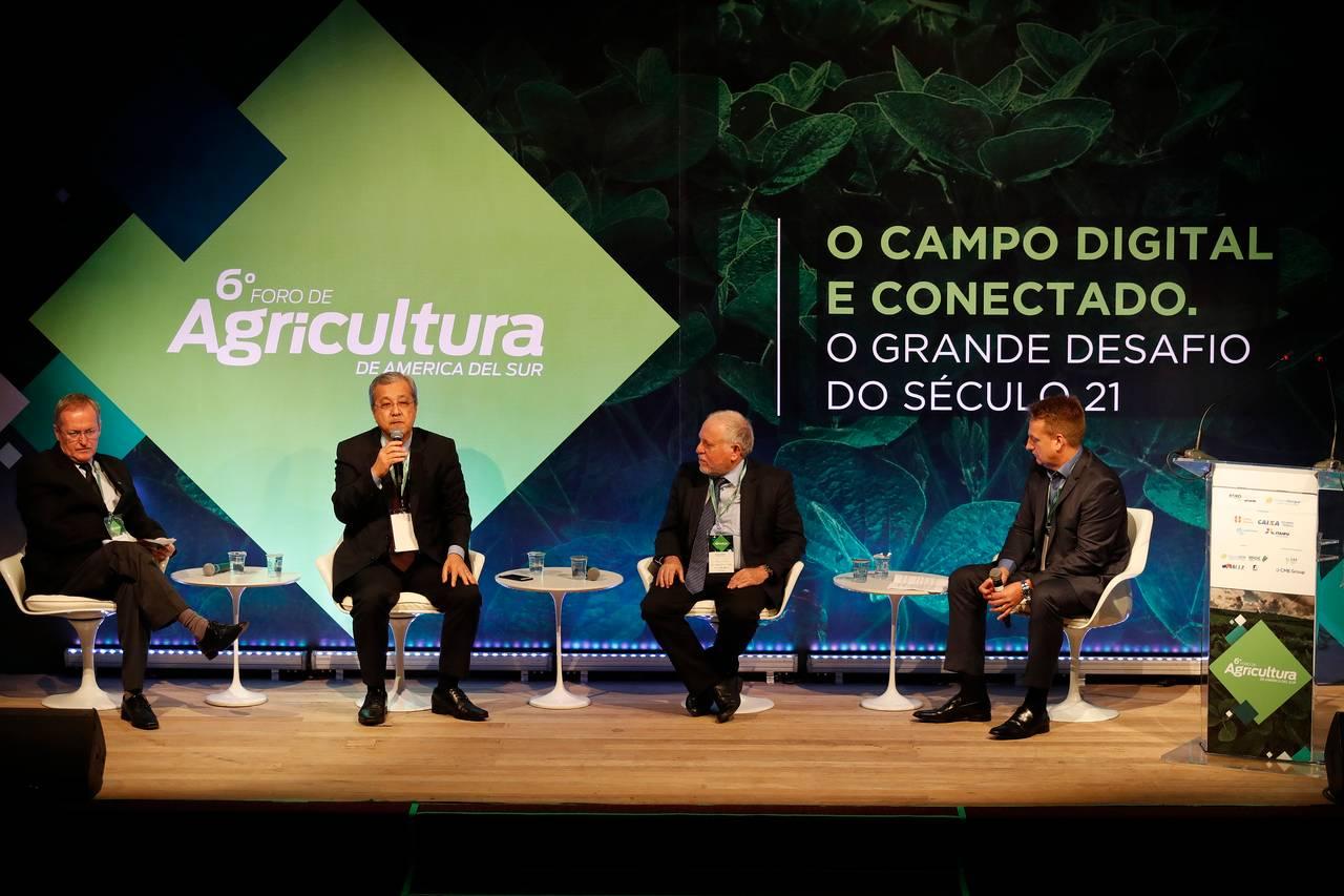 6.º edição do Fórum de Agricultura da América do Sul, em 2018, Curitiba (PR).