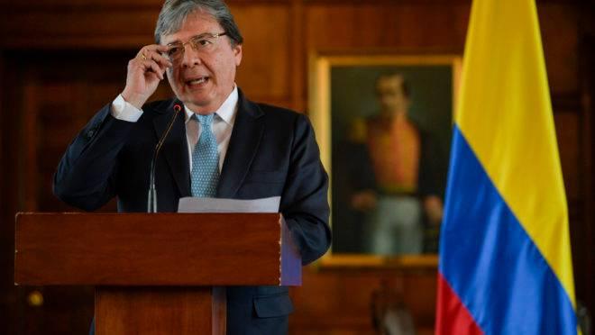 Ministro das Relações Exteriores da Colômbia, Carlos Holmes Trujillo