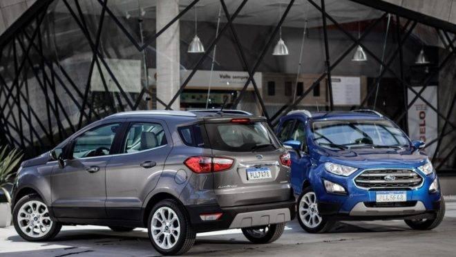 Ford Lança Nova Ecosport 2020 Com Visual Mais Urbano E Pneus De Suv Premium