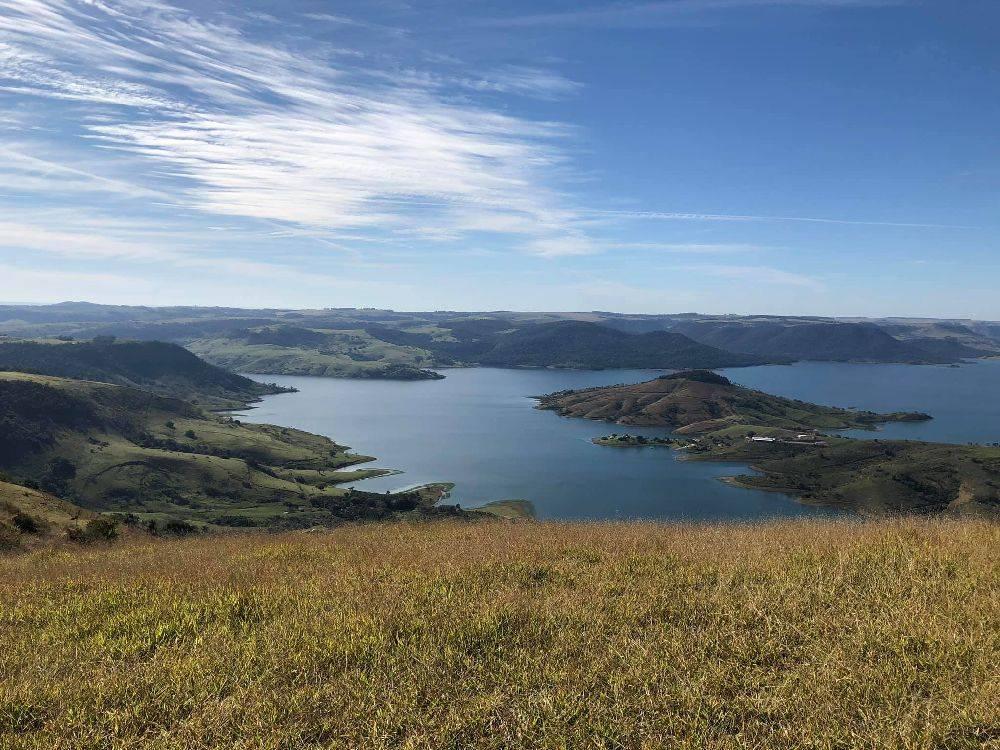 No alto do Morro, a vista impressiona.  Reprodução Facebook Morro do Gavião/Yael Picolo Alves Ampessan
