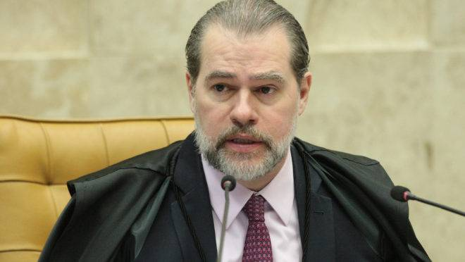 O presidente do Supremo Tribunal Federal, ministro Dias Toffoli.