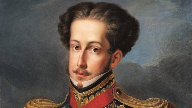 Dom Pedro I, que proclamou a independência do Brasil.