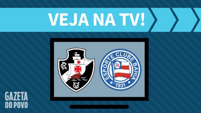 Vasco x Bahia: veja na TV