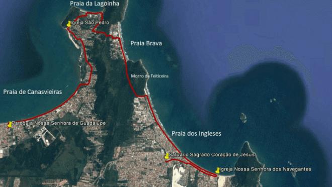 Por onde passa o Caminho Brasileiro de Santiago de Compostela