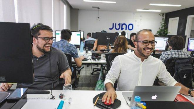 funcionários da Juno