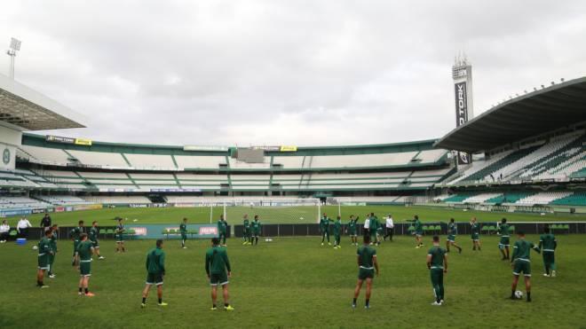Coritiba fará treino aberto no Couto Pereira na véspera da partida contra o Atlético-GO