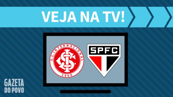 Internacional x São Paulo: veja na TV
