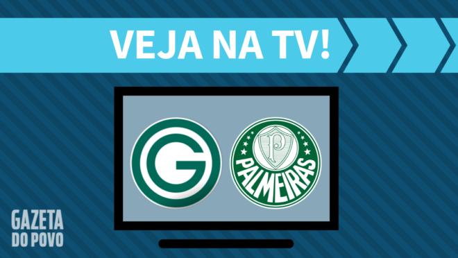 Goiás x Palmeiras: veja na TV