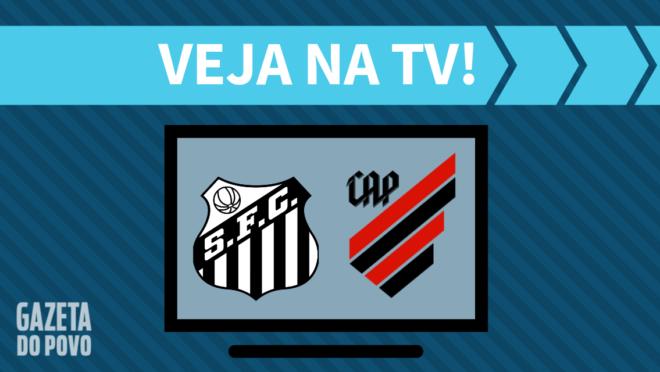 Santos x Athletico: veja na TV