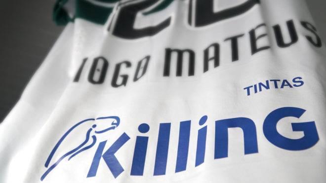Coritiba anunciou novo patrocínio para costas da camisa