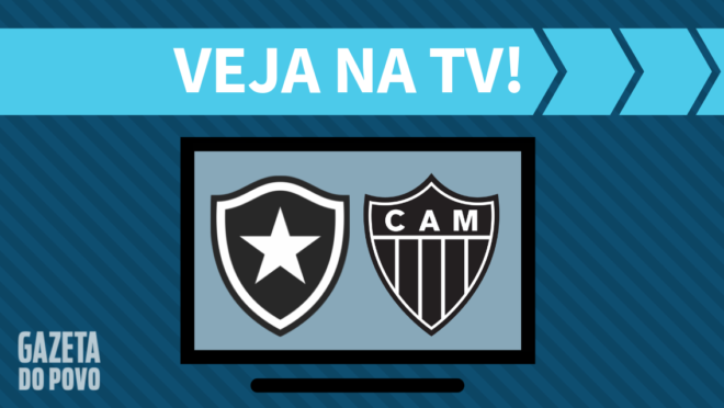Botafogo x Atlético-MG: veja na TV