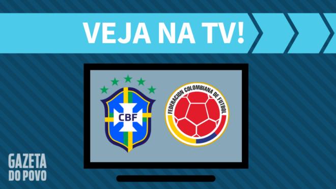 Brasil x Colômbia: veja na TV