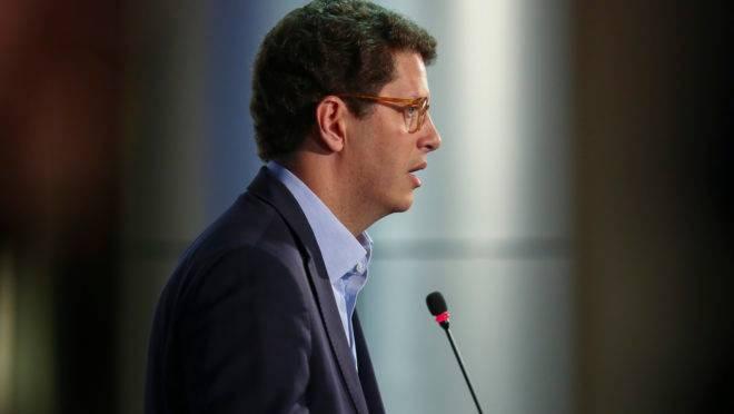 O ministro do Meio Ambiente, Ricardo Salles.