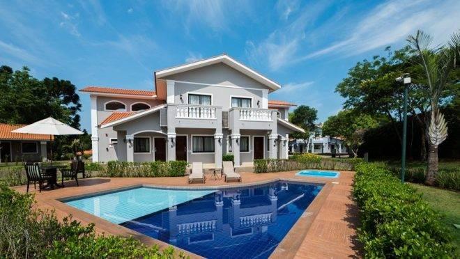 O hotel já foi premiado duas vezes como Melhor Resort para famílias e uma vez como Melhor Resort do Brasil.