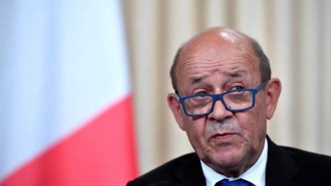 Ministro das Relações Exteriores da França, Jean-Yves Le Drian