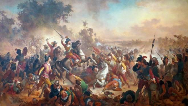 Batalha de Guararapes, por Victor Meirelles.