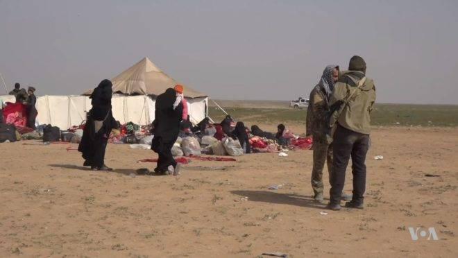 Foto do campo de Al-Hol, na Síria, em março de 2019.