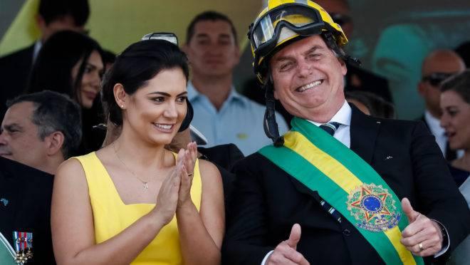 (Brasília - DF, 07/09/2019) Presidente da República, Jair Bolsonaro, durante desfile Cívico por ocasião do Dia da PátriarFoto: Alan Santos/PR