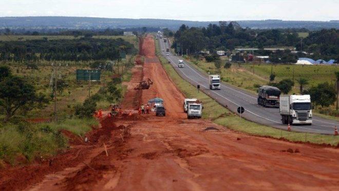 Obras na BR-163 têm previsão de receber R$ 120 milhões em 2020