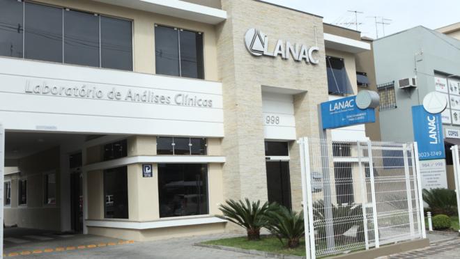 fachada da sede do LANAC.