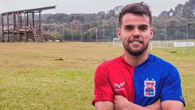 Volante Rodrigo defenderá o Paraná na Série B 2019