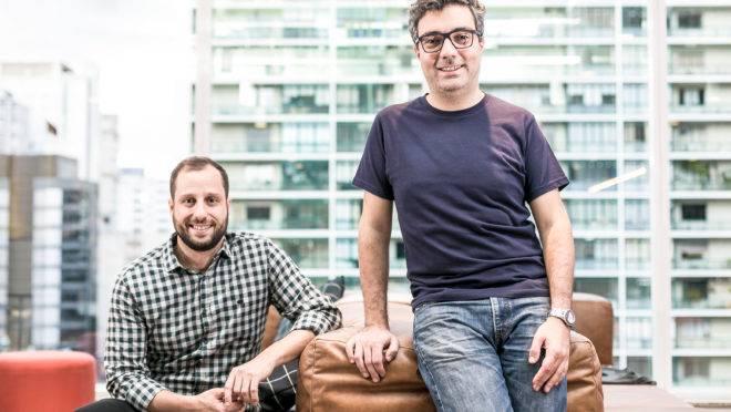 André Penha e Gabriel Braga, fundadores do QuintoAndar