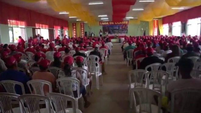 Aula de formação no Centro de Capacitação Paulo Freire.