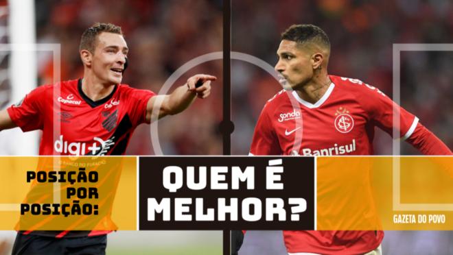 Athletico x Internacional: quem é melhor, posição por posição?